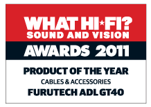 What HiFi Product of the year GT40